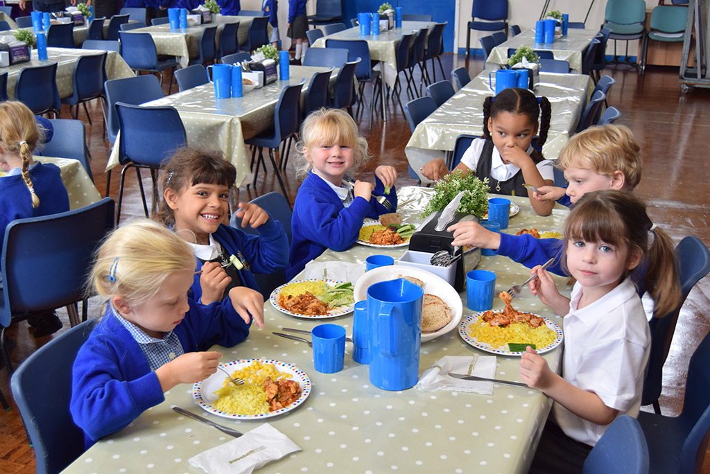 School dinners at Sandgate